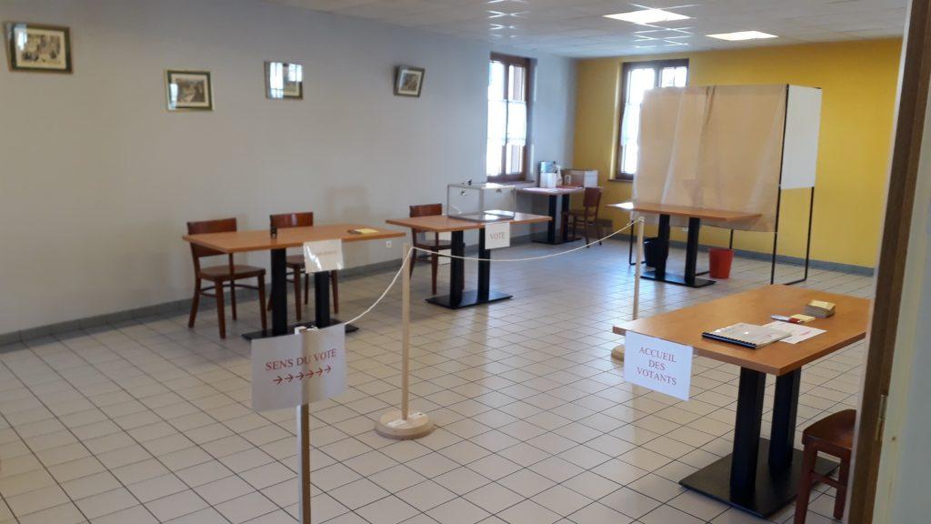 Organisation mat rielle bureau de vote petit landau - Organisation bureau de vote ...